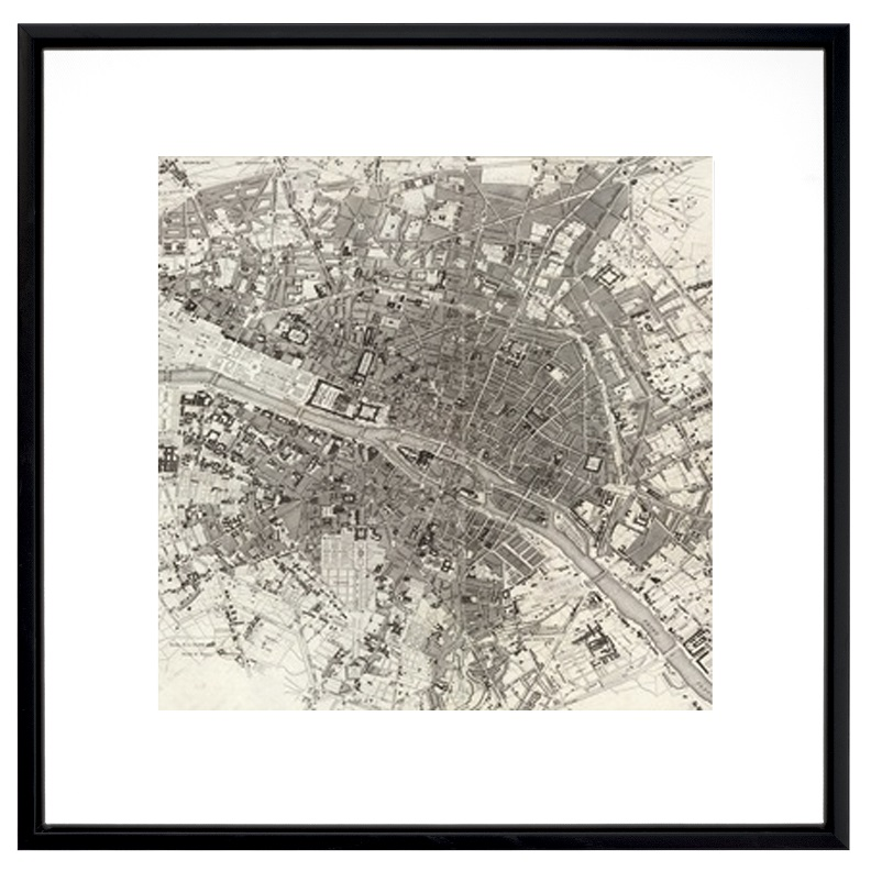 City satellite view